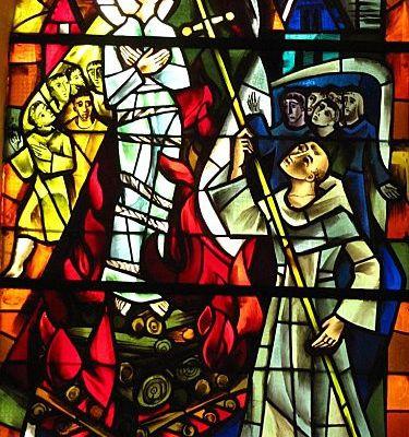 Le 30 mai 1431 Jeanne d'Arc est brûlée vive à Rouen