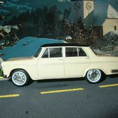 FIAT 2300 BERLINE 1961 CREME NOREV 1/43 - car-collector.net