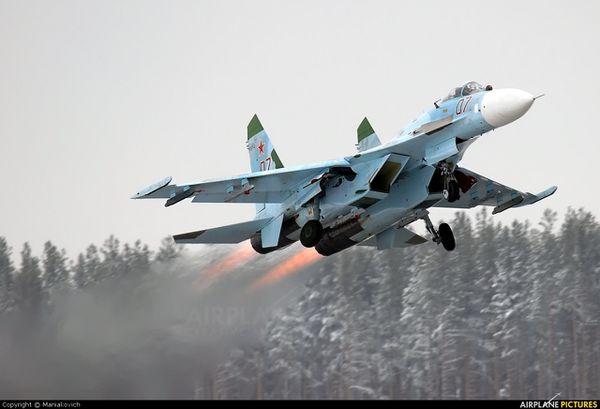 Une base aérienne russe en Biélorussie