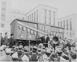 Le Moulinois Albert Gaston Pésery et le « Merci train »