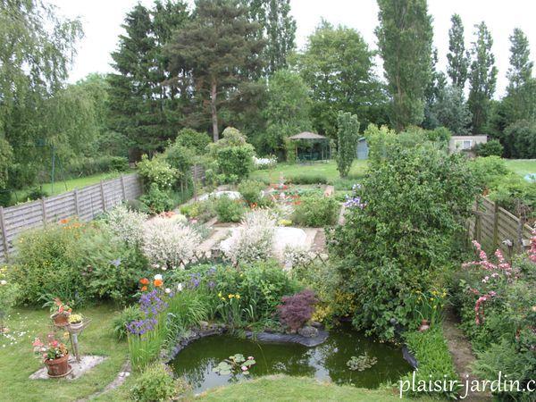 Aménager son bords de bassin ... avec de vrais, belles plantes