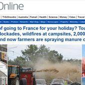 «Vous songez encore à passer vos vacances en France?», demande le «Daily Mail» à ses lecteurs