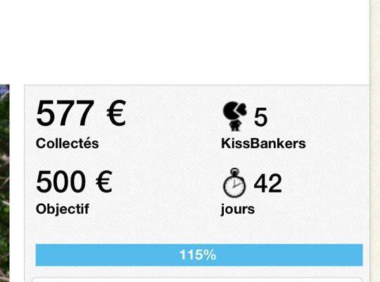 suivi de la collecte du crowdfunding