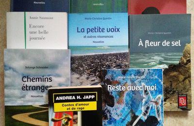 """Le """"défi littéraire""""... les nouvelles et moi !"""