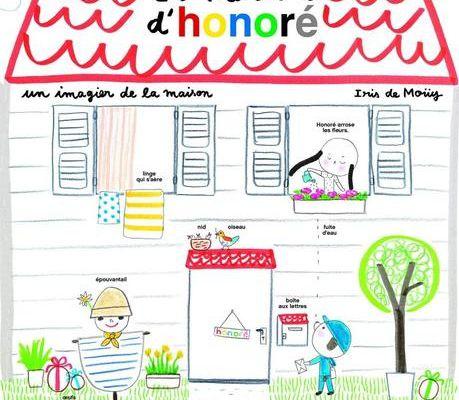 La Maison d'Honore - Iris de Mouy