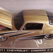 CHEVROLET CAMARO Z/28 CUSTOM SHOP MAISTO 1/64 - car-collector.net