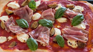 Pizza Jambon - Figues