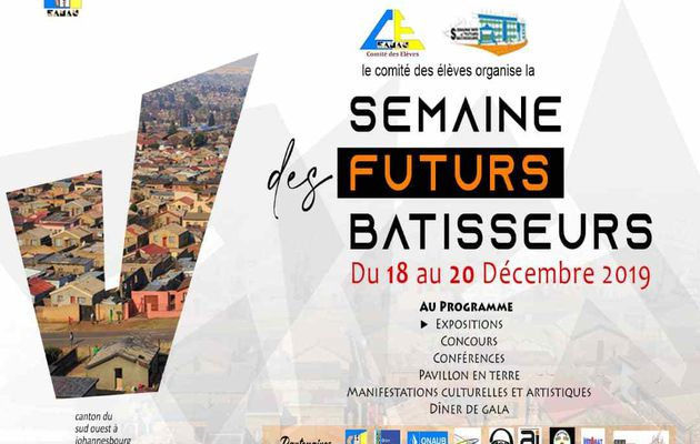 la Semaine des Futurs Bâtisseurs : Vous y êtes invités !