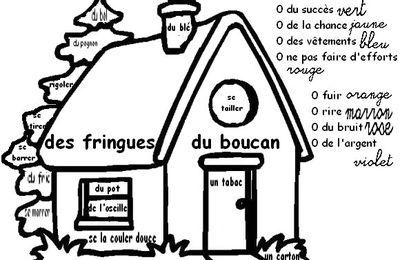 Coloriage magique: les registres de langue