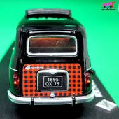 FASCICULE N°1 RENAULT 4L PARISIENNE 1965 IXO 1/43. - car-collector.net: collection voitures miniatures