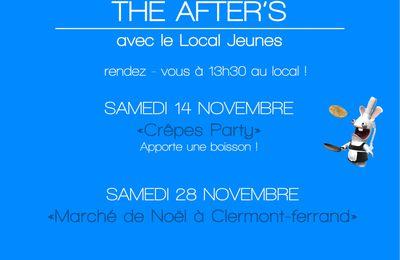 Evènements Local jeunes Novembre/Décembre 2015