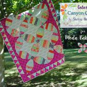Color Play ~ Canyon Quilt