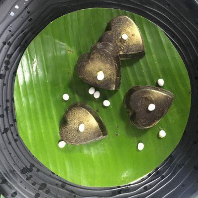 Chocolats fourrés à la mangue et aux Anis de Flavigny