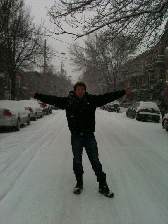 1ère chute de neige à Montréal, 23 Novembre 2011 :)