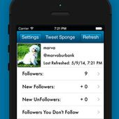 Tweet Sponge among Twitter sphere : new Apps - Who Unfollowed and Unfollow me on Twitter for my Followers and UnFollowers Stats - OOKAWA Corp.
