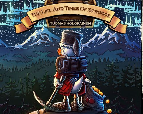 """CD : """" Music inspired by The Life and Times of Scrooge'"""" de TUOMAS HOLOPAINEN"""