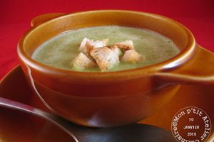 Soupe vert grenouille (au Cook'in®)