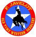 F. Javelot, l'artisan du cuir western