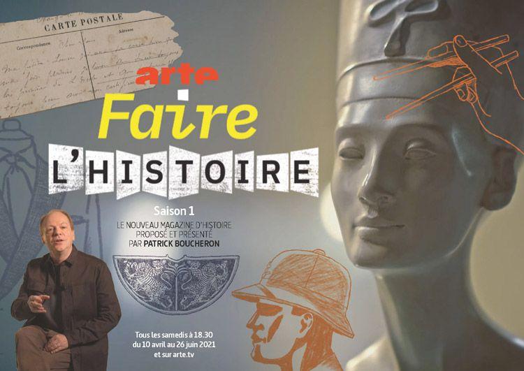 """""""Faire l'histoire"""", nouveau rendez-vous présenté pae Patrick Boucheron dès le 16 avril sur ARTE (vidéo)"""
