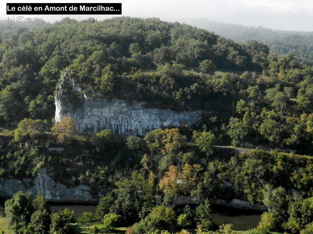 MARCILHAC - SAULIAC - 4éme jour en VAL de CELE  ( suite du chemin - Via Podiensis - variante du Célé - GR 651 )