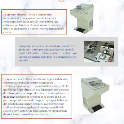 Cryostat Microm HM 505  (disponible)