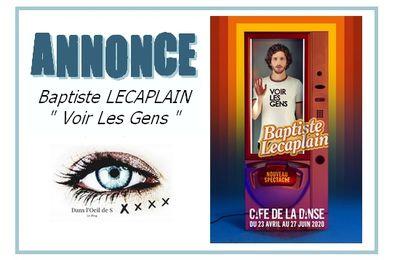 (MAJ) 🗣 Annonce - Baptiste Lecaplain de retour !