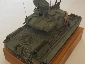 AMX30 DCA. 1/35. Heller/scratch #amx30 #amx30dca #amx30Heller #amx30dcaHeller