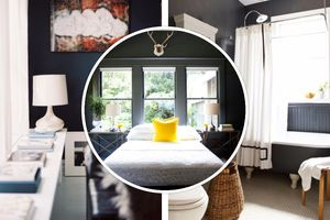 Black walls in home interior - why not?