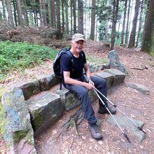 Les bancs de pierre du Mont-Sainte-Odile