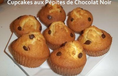 Un Tour en Cuisine #94 - Cupcakes aux Pépites de Chocolat Noir