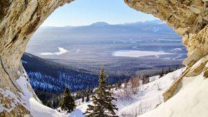 Canada - Celui qui découvrait la grotte de Grey Mountain