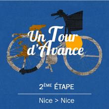 """Dossier : Un Tour d'avance  VIDÉO - """"Un Tour d'avance"""" : Nice-Nice, la 2e étape du Tour de France comme si vous y étiez + VIDÉO - Christian Prudhomme : """"Je n'imaginais pas voir des gens pleurer au passage d'Eddy Merckx"""" + Tweets by LeTour - (Aurore Jarnoux, France Bleu, France Bleu Azur - Germain Arrigoni, France Bleu)"""
