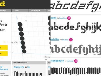 fontstruct - typO