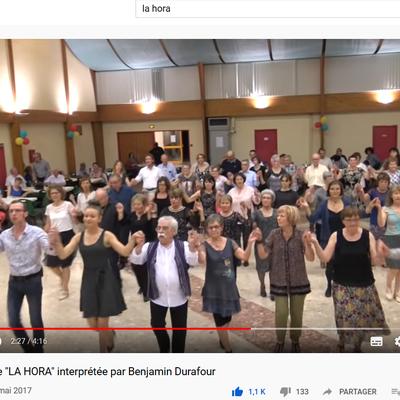 Apprenez à danser La Hora en ligne grâce à la vidéo !