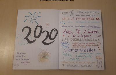 Bujo Nouvelle année 2020