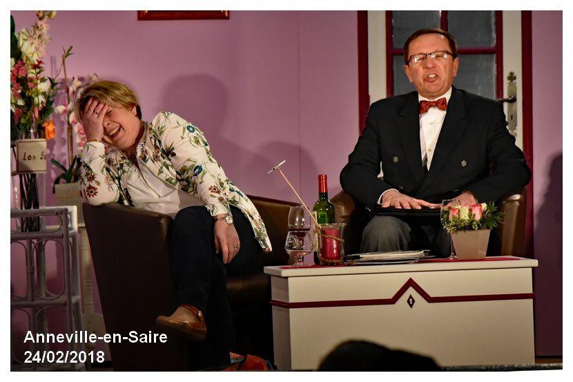 Anneville en Saire : théâtre avec les Sacrebleu