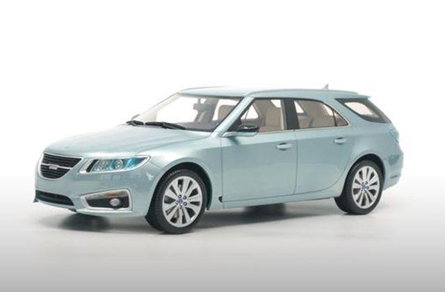1/18 : DNA Collectibles sort la Saab 9-5 Sportcombi