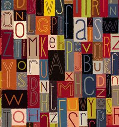 Inspiré par l'alphabet