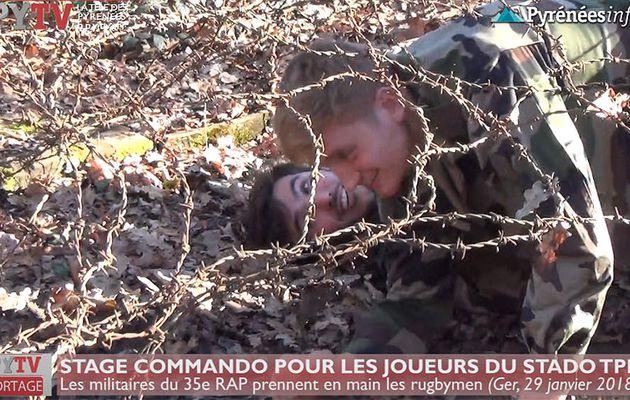 Stage Commando pour le Stado TPR (29 janv 18) | HPyTv La Télé de Tarbes