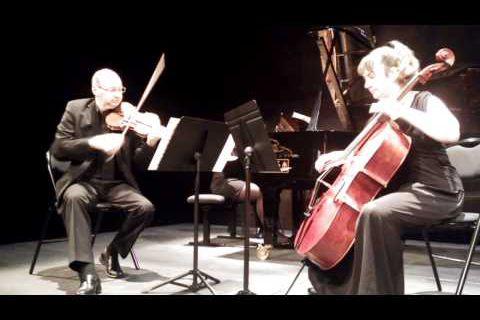 Le Trio Crescendo en concert