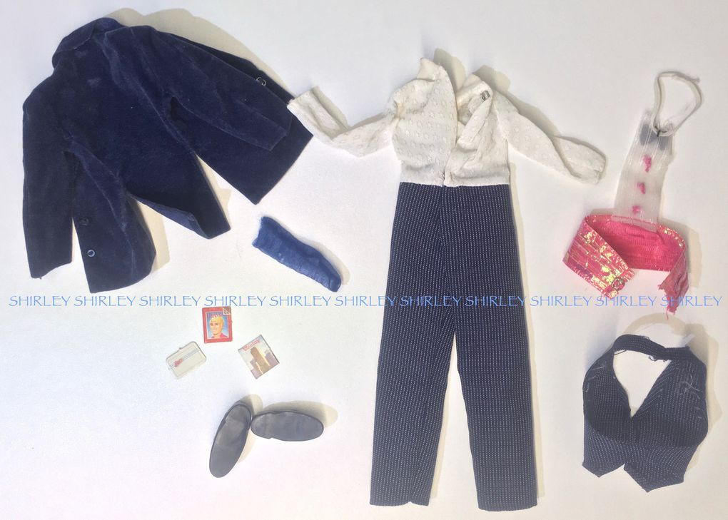 """""""DAY TO NIGHT"""" KEN DOLL CLOTHES 1984 MATTEL #9019"""