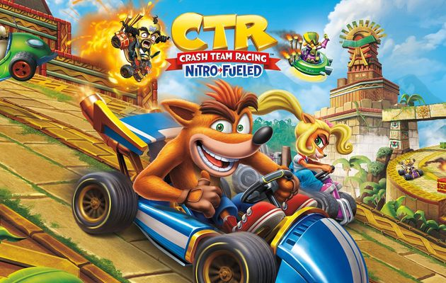 [TEST] CTR CRASH TEAM RACING NITRO-FUELED XBOX ONE X : un retour fracassant!
