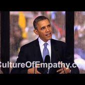 Obama Speaks about Ubuntu & Empathy at Nelson Mandela Memorial Service