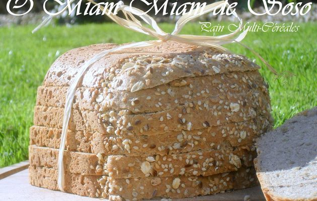 PAIN COMPLET MULTI CEREALES - CUISSON MAP - SOUDEUSE GALANTINE