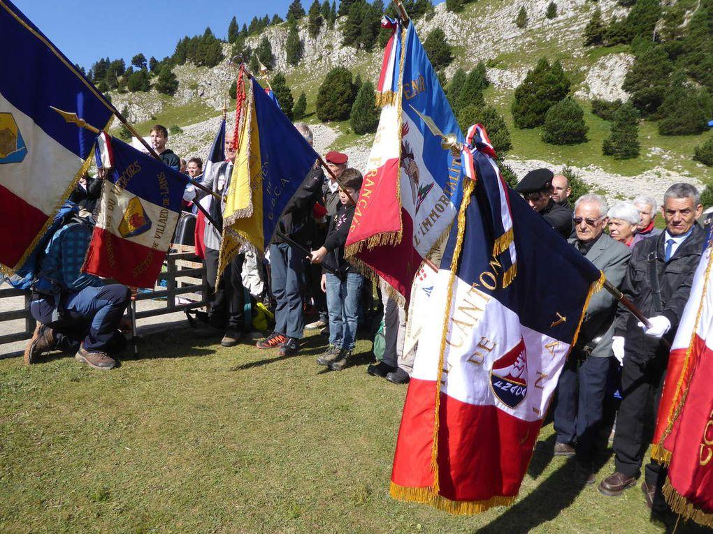 Inauguration de la 274ième nécropole de France, au Pas de l'Aiguille (première partie)