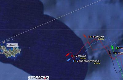 Transat AG2R La Mondiale - Panne de vent à 25 milles de l'arrivée