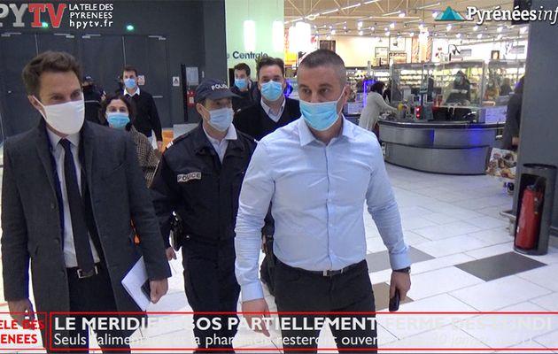 Pays de Tarbes :: Le Méridien Leclerc fermé partiellement dès lundi (30 janv 21)