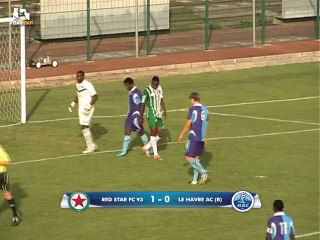 RED STAR 93 - LE HAVRE B : 1-0