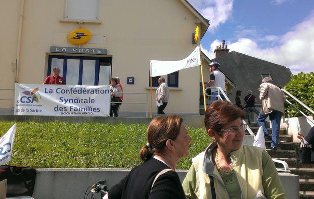 Bureau de poste de la Cité des Pins : la lutte continue