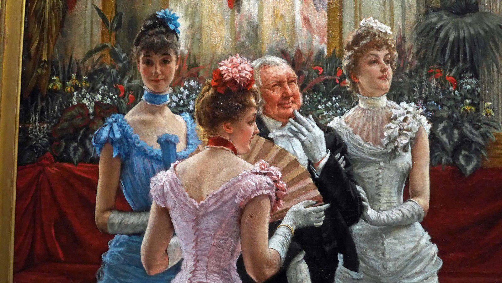 Les Demoiselles de Province (vers 1883-1885), Collection Diane B. Wilsey